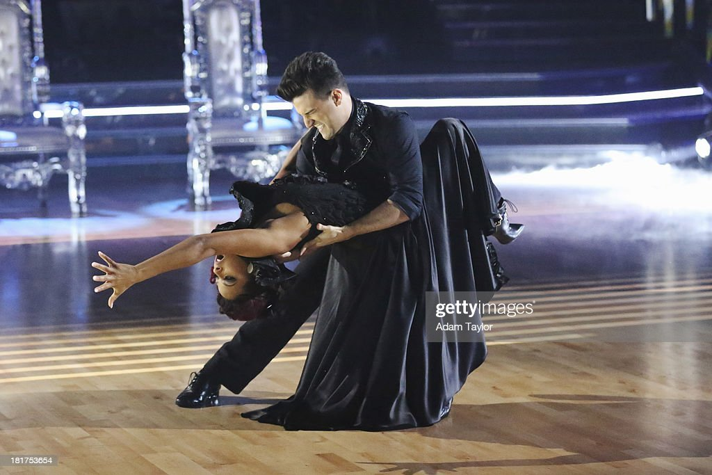 STARS - 'Episode 1702' - The competition heated up on a Latin-themed 'Dancing with the Stars' as the celebrities took on new dance routines - a Samba, Jive, Rumba or Paso - and fought for survival, MONDAY, SEPTEMBER 23 (8:00-10:01 p.m., ET), on the ABC Television Network. CHRISTINA