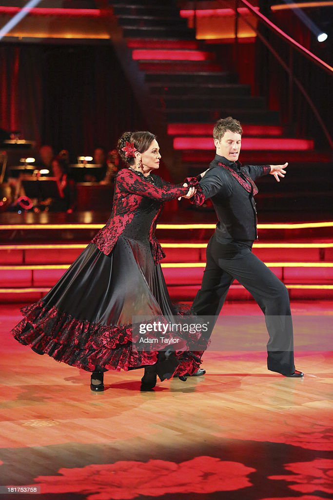 STARS - 'Episode 1702' - The competition heated up on a Latin-themed 'Dancing with the Stars' as the celebrities took on new dance routines - a Samba, Jive, Rumba or Paso - and fought for survival, MONDAY, SEPTEMBER 23 (8:00-10:01 p.m., ET), on the ABC Television Network. VALERIE