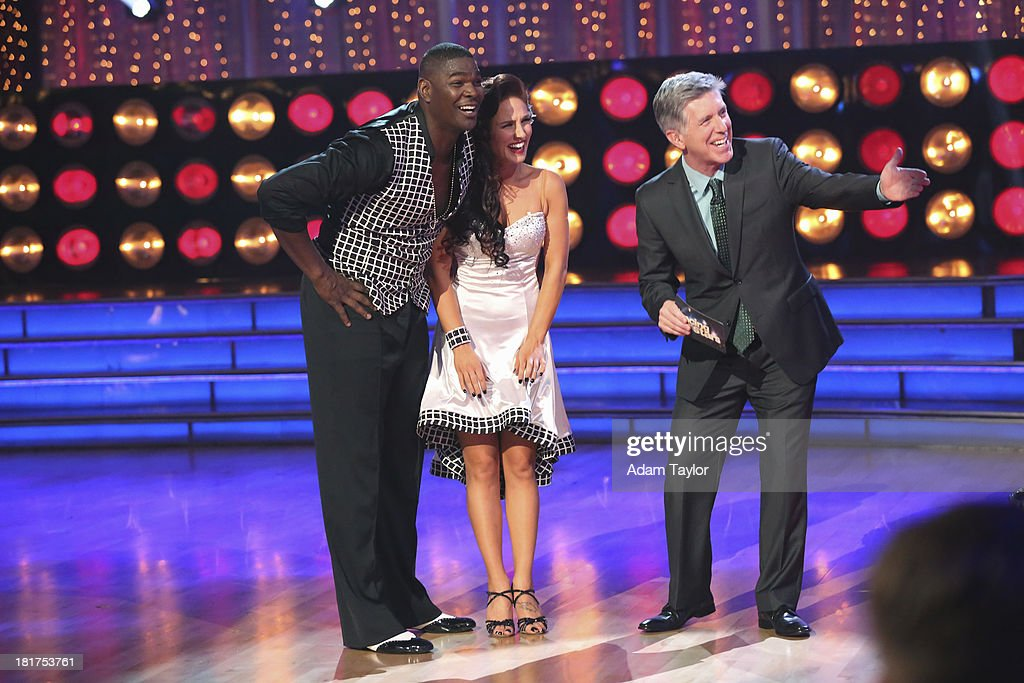 STARS - 'Episode 1702' - The competition heated up on a Latin-themed 'Dancing with the Stars' as the celebrities took on new dance routines - a Samba, Jive, Rumba or Paso - and fought for survival, MONDAY, SEPTEMBER 23 (8:00-10:01 p.m., ET), on the ABC Television Network. KEYSHAWN