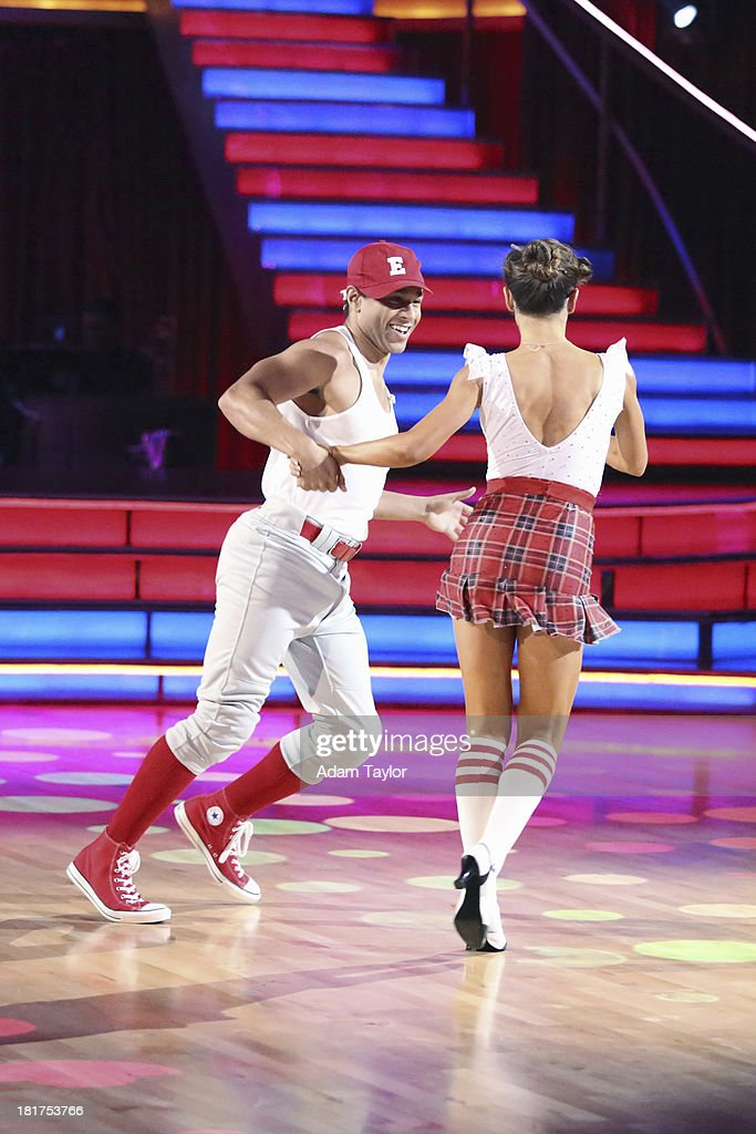 STARS - 'Episode 1702' - The competition heated up on a Latin-themed 'Dancing with the Stars' as the celebrities took on new dance routines - a Samba, Jive, Rumba or Paso - and fought for survival, MONDAY, SEPTEMBER 23 (8:00-10:01 p.m., ET), on the ABC Television Network. CORBIN