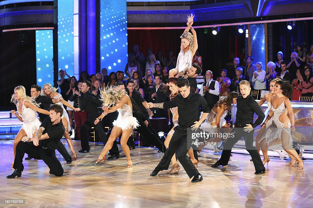 STARS - 'Episode 1702' - The show featured a show-stopping opening number choreographed by Sharna Burgees and Henry Byalikov, MONDAY, SEPTEMBER 23 (8:00-10:01 p.m., ET), on the ABC Television Network. DANCERS