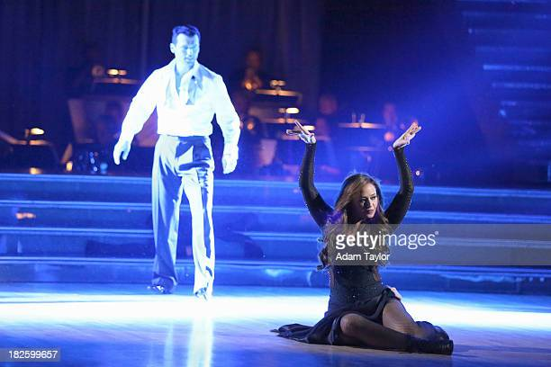 STARS 'Episode 1703' It was Hollywood night on 'Dancing with the Stars' as 11 remaining couples took to the ballroom floor on 'Dancing with the...