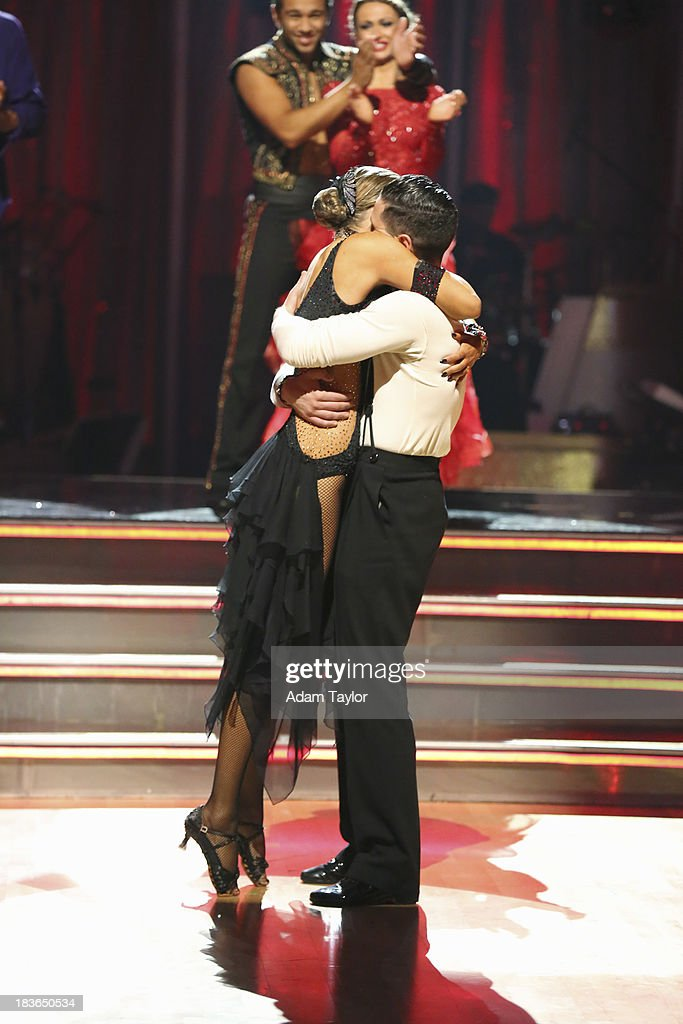 STARS - 'Episode 1704' - 10 remaining couples took to the ballroom floor on 'Dancing with the Stars,' MONDAY, OCTOBER 7 (8:00-10:01 p.m., ET). CORBIN