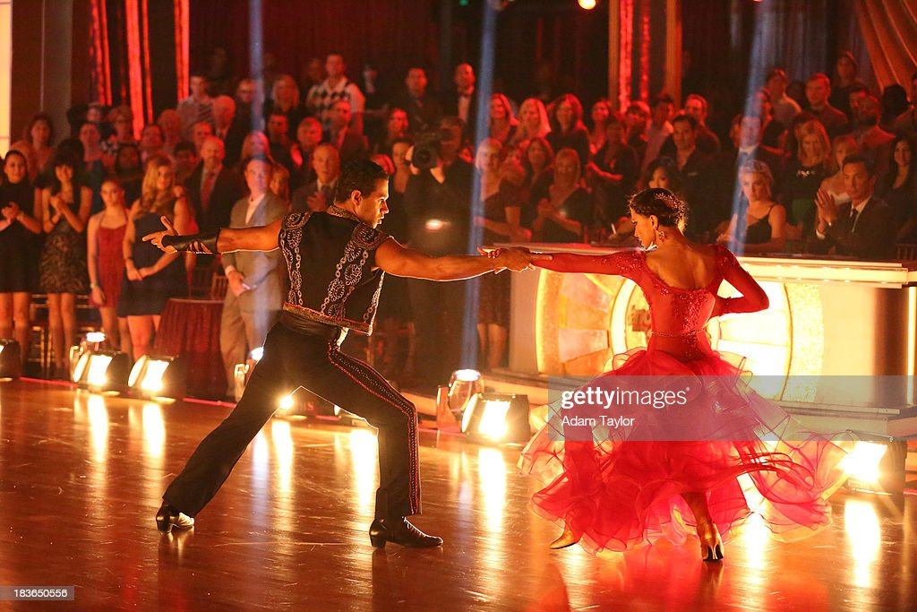 STARS - 'Episode 1704' - 10 remaining couples took to the ballroom floor on 'Dancing with the Stars,' MONDAY, OCTOBER 7 CORBIN