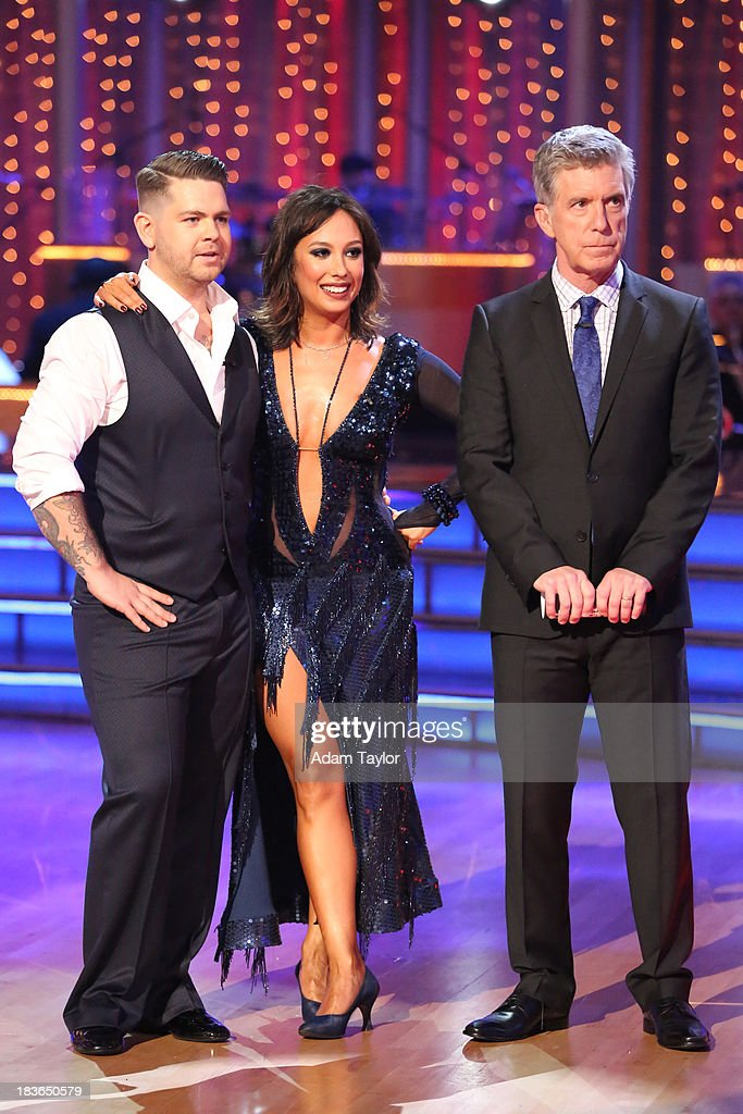 STARS - 'Episode 1704' - 10 remaining couples took to the ballroom floor on 'Dancing with the Stars,' MONDAY, OCTOBER 7 (8:00-10:01 p.m., ET). BERGERON