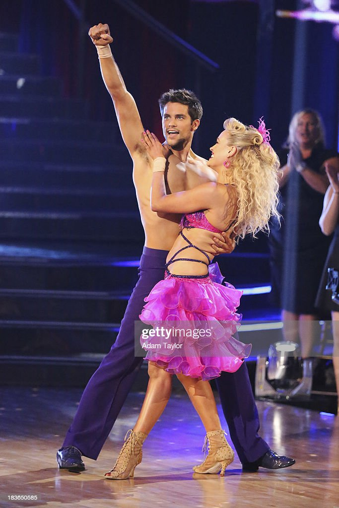 STARS - 'Episode 1704' - 10 remaining couples took to the ballroom floor on 'Dancing with the Stars,' MONDAY, OCTOBER 7 BRANT
