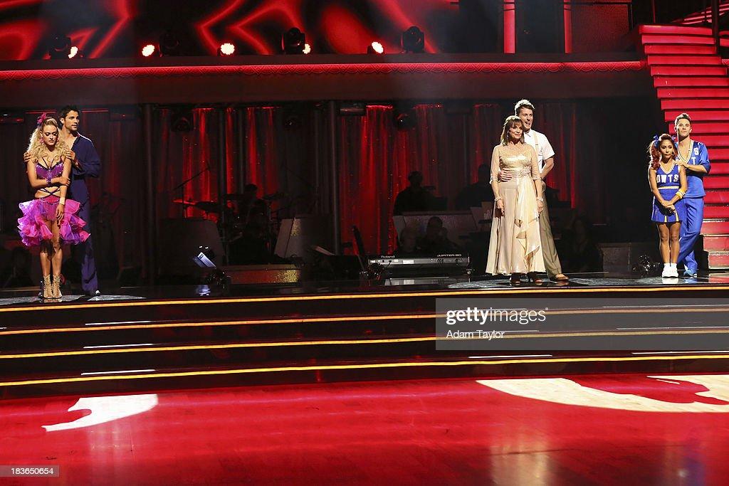 STARS - 'Episode 1704' - 10 remaining couples took to the ballroom floor on 'Dancing with the Stars,' MONDAY, OCTOBER 7 (8:00-10:01 p.m., ET). PETA MURGATROYD, BRANT DAUGHERTY, VALERIE HARPER, TRISTAN MACMANUS, NICOLE 'SNOOKI' POLIZZI, SASHA