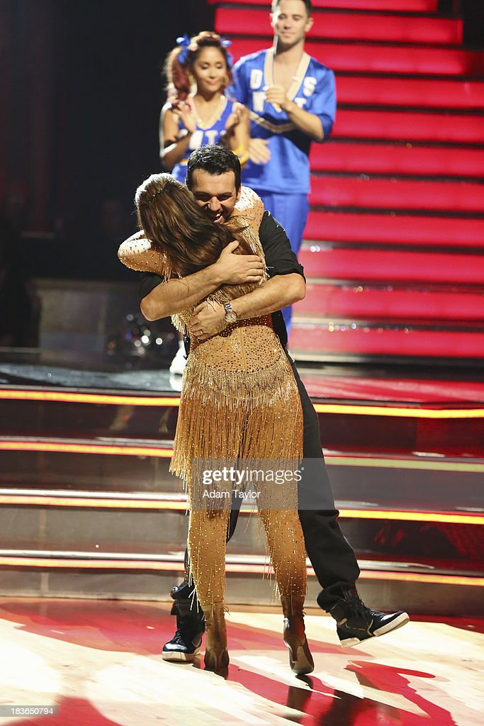 STARS - 'Episode 1704' - 10 remaining couples took to the ballroom floor on 'Dancing with the Stars,' MONDAY, OCTOBER 7 (8:00-10:01 p.m., ET). NICOLE 'SNOOKI' POLIZZI, SASHA
