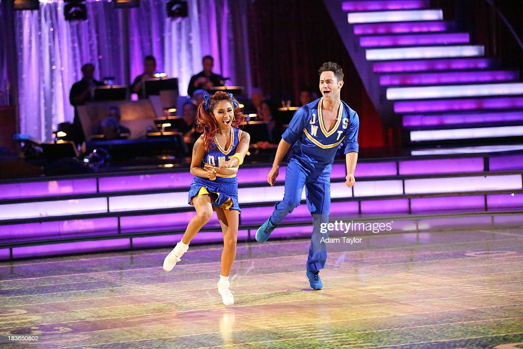 STARS - 'Episode 1704' - 10 remaining couples took to the ballroom floor on 'Dancing with the Stars,' MONDAY, OCTOBER 7 NICOLE 'SNOOKI' POLIZZI, SASHA