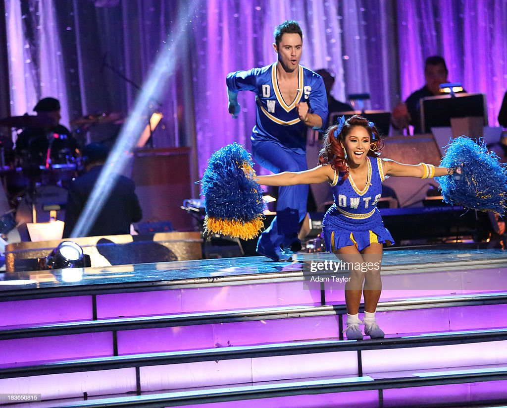 STARS - 'Episode 1704' - 10 remaining couples took to the ballroom floor on 'Dancing with the Stars,' MONDAY, OCTOBER 7 SASHA FARBER, NICOLE 'SNOOKI' POLIZZI