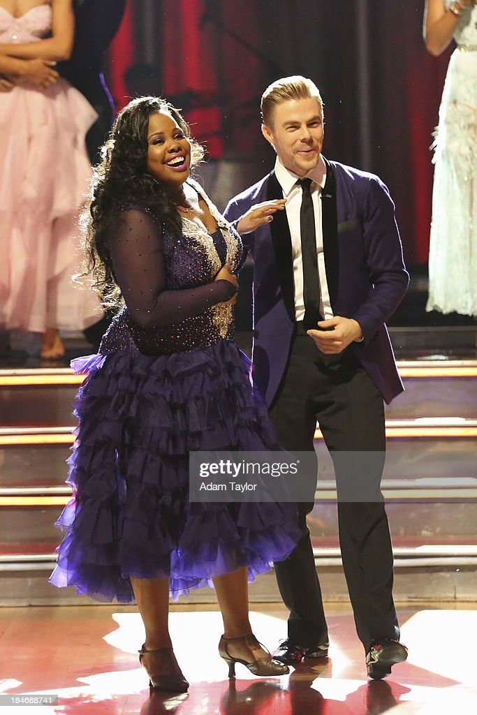 STARS - 'Episode 1705' - At the end of the night, one couple faced elimination on 'Dancing with the Stars,' MONDAY, OCTOBER 14 (8:00-10:01 p.m., ET), on ABC. AMBER