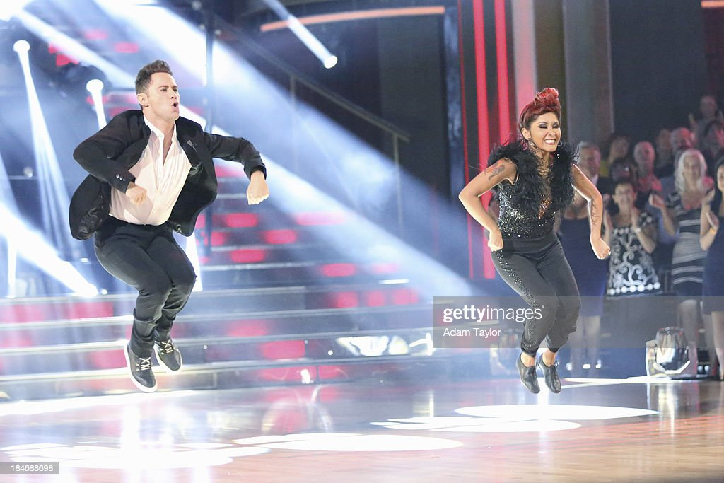 STARS - 'Episode 1705' - The competition continued as nine remaining celebrities commemorated 'The Most Memorable Year of Their Life' on 'Dancing with the Stars,' MONDAY, OCTOBER 14 (8:00-10:01 p.m., ET), on ABC. Each couple danced to a song of the celebrities choosing that encompassed a memorable time or experience in their life. SASHA FARBER, NICOLE 'SNOOKI' POLIZZI