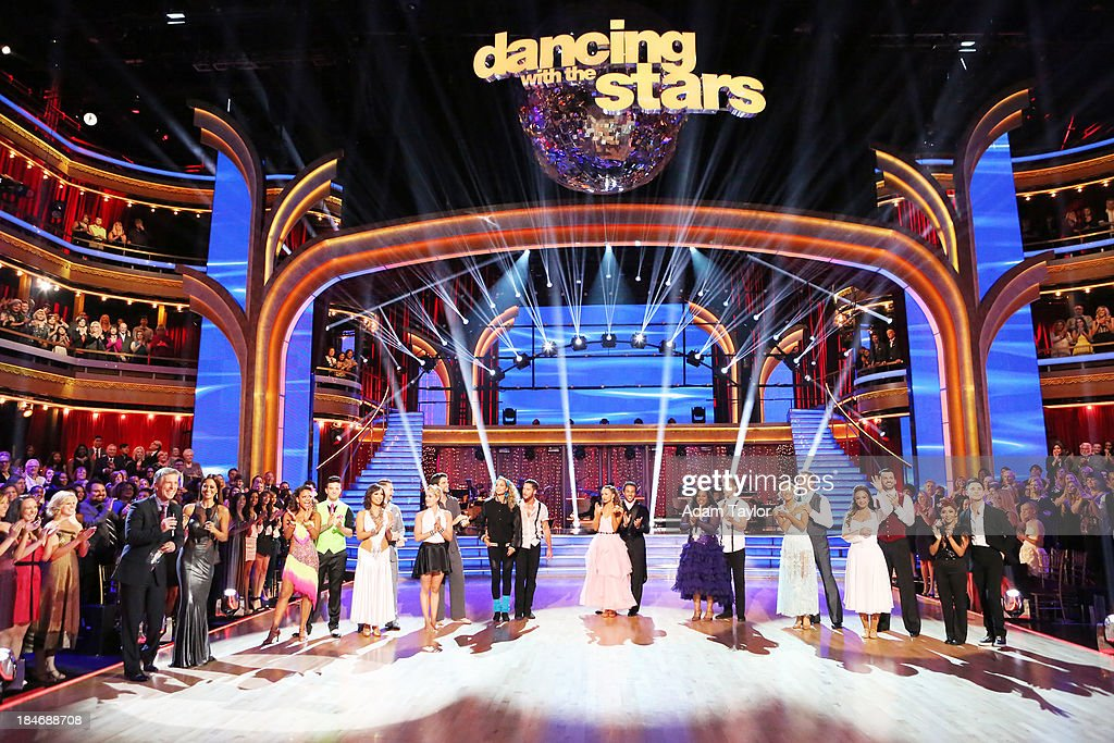 STARS - 'Episode 1705' - The competition continued as nine remaining celebrities commemorated 'The Most Memorable Year of Their Life' on 'Dancing with the Stars,' MONDAY, OCTOBER 14 (8:00-10:01 p.m., ET), on ABC. Each couple danced to a song of the celebrities choosing that encompassed a memorable time or experience in their life. TOM BERGERON, BROOKE BURKE-CHARVET, CHRISTINA MILIAN, MARK BALLAS, CHERYL BURKE, JACK OSBOURNE, PETA MURGATROYD, BRANT DAUGHERTY, ELIZABETH BERKLEY LAUREN, VAL CHMERKOVSKIY, KARINA SMIRNOFF, CORBIN BLEU, AMBER RILEY, DEREK HOUGH, EMMA SLATER, BILL ENGVALL, LEAH REMINI, TONY DOVOLANI, NICOLE 'SNOOKI' POLIZZI, SASHA