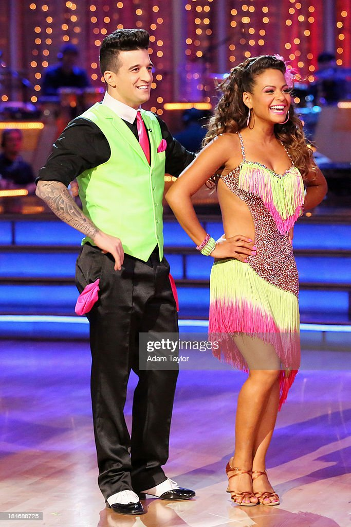 STARS - 'Episode 1705' - The competition continued as nine remaining celebrities commemorated 'The Most Memorable Year of Their Life' on 'Dancing with the Stars,' MONDAY, OCTOBER 14 (8:00-10:01 p.m., ET), on ABC. Each couple danced to a song of the celebrities choosing that encompassed a memorable time or experience in their life. MARK