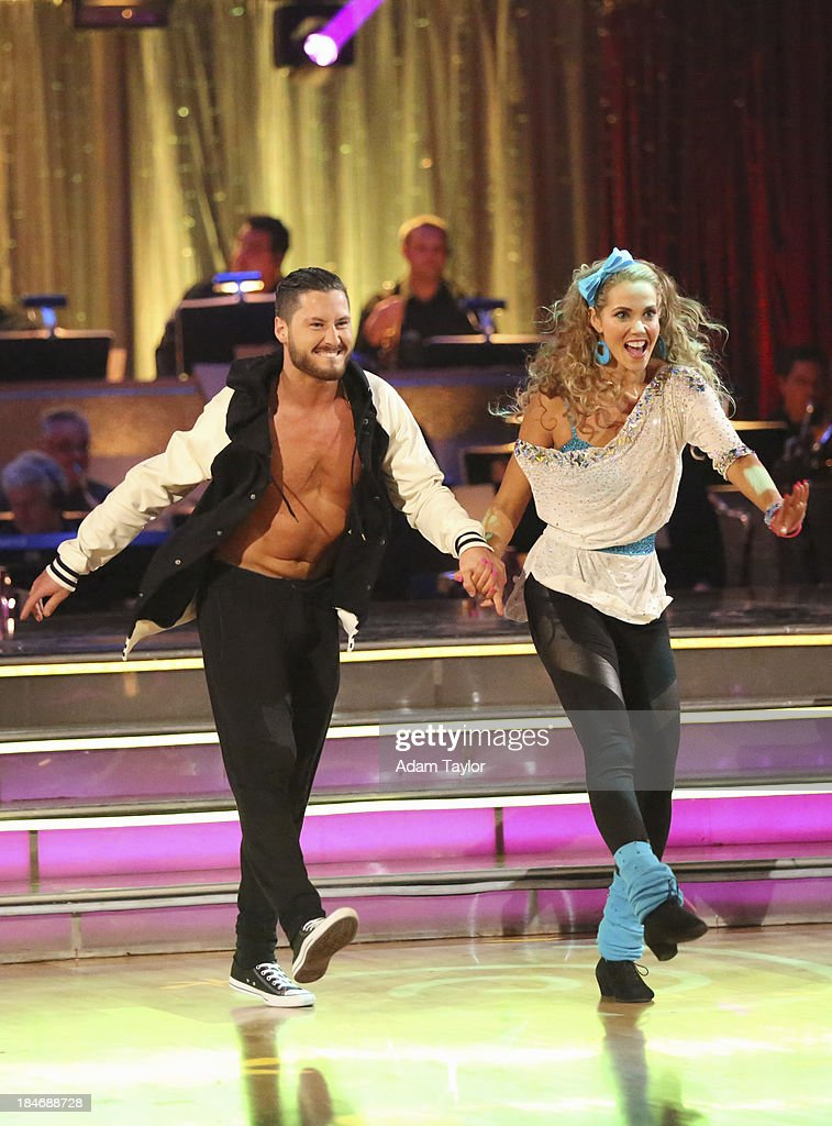 STARS - 'Episode 1705' - The competition continued as nine remaining celebrities commemorated 'The Most Memorable Year of Their Life' on 'Dancing with the Stars,' MONDAY, OCTOBER 14 (8:00-10:01 p.m., ET), on ABC. Each couple danced to a song of the celebrities choosing that encompassed a memorable time or experience in their life. VAL