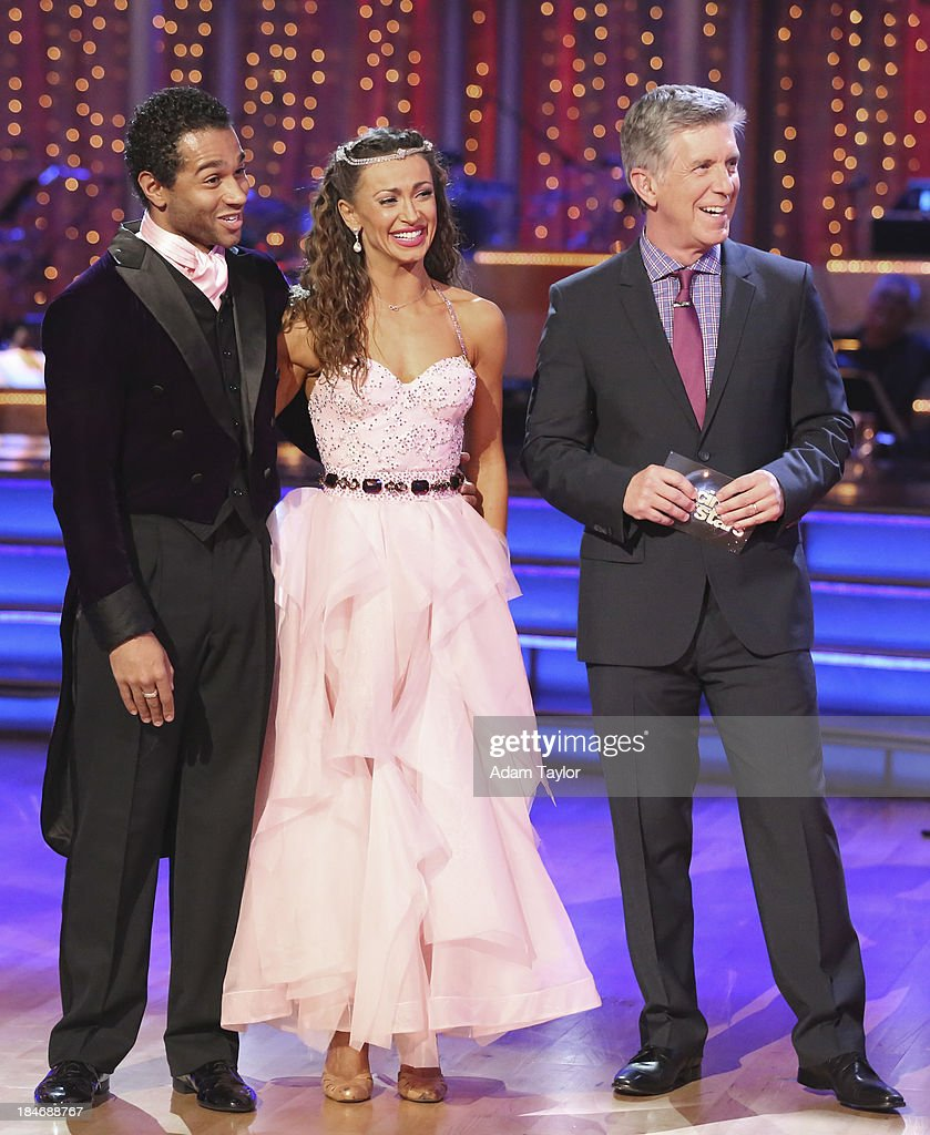 STARS - 'Episode 1705' - The competition continued as nine remaining celebrities commemorated 'The Most Memorable Year of Their Life' on 'Dancing with the Stars,' MONDAY, OCTOBER 14 (8:00-10:01 p.m., ET), on ABC. Each couple danced to a song of the celebrities choosing that encompassed a memorable time or experience in their life. CORBIN