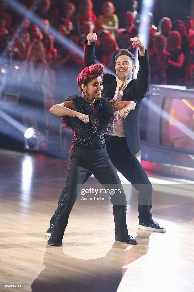 STARS - 'Episode 1705' - The competition continued as nine remaining celebrities commemorated 'The Most Memorable Year of Their Life' on 'Dancing with the Stars,' MONDAY, OCTOBER 14 (8:00-10:01 p.m., ET), on ABC. Each couple danced to a song of the celebrities choosing that encompassed a memorable time or experience in their life. NICOLE 'SNOOKI' POLIZZI, SASHA