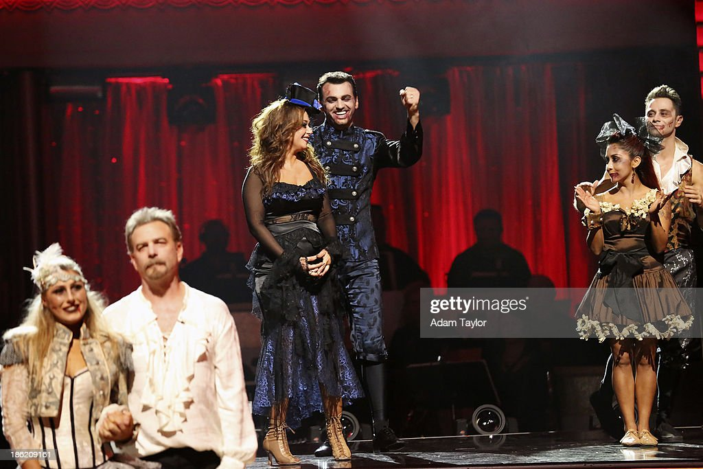 STARS - 'Episode 1707' - At the end of the night, one couple faced elimination, on 'Dancing with the Stars,' MONDAY, OCTOBER 28 (8:00-10:01 p.m., ET), on ABC. EMMA SLATER, BILL ENGVALL, LEAH REMINI, TONY DOVOLANI, NICOLE 'SNOOKI' POLIZZI, SASHA