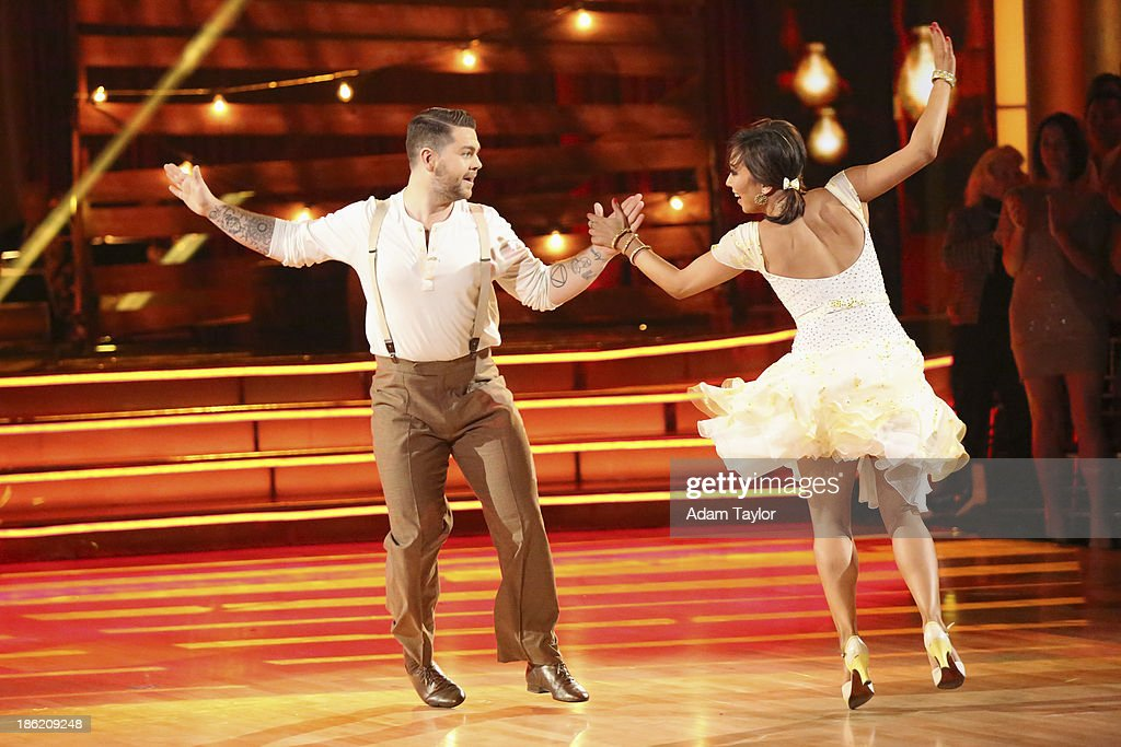STARS - 'Episode 1707' - The competition continued as eight remaining celebrities performed two new routines on 'Dancing with the Stars,' MONDAY, OCTOBER 28 (8:00-10:01 p.m., ET). The night began with a spectacular opening number choreographed by Emmy Nominated choreographer, Mandy Moore. The competition was then split into two rounds. In the first round, each couple took on a dance style they have not been previously performed including the Salsa, Quickstep, Samba, Cha Cha, Paso Doble, and Jive. In the second round, the cast danced together in two separate teams, with each couple having a featured solo. JACK