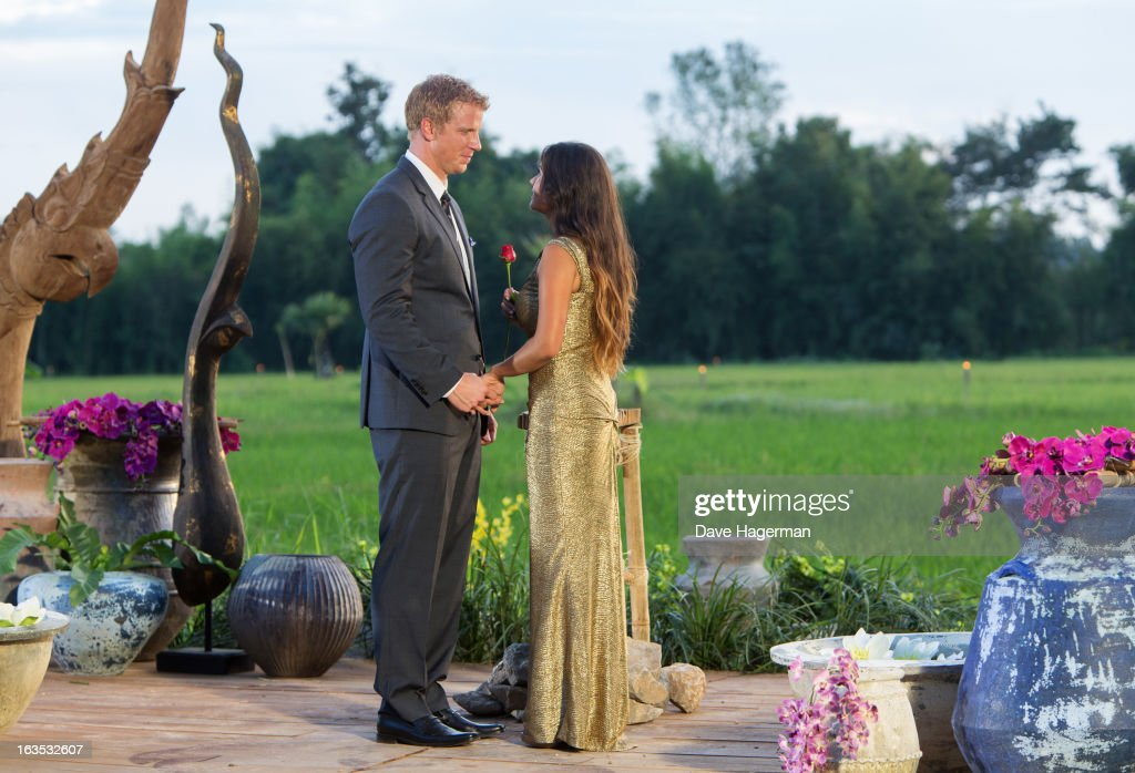 THE BACHELOR - 'Episode 1710' - In the dramatic Season Finale, Sean made one of the most difficult choices of this life. After having his family meet both women in spectacular Chiang Rai, Thailand, and under immense pressure, he made one final, heart-wrenching decision and chose and fell in love with Catherine Giudici, on the Season Finale of 'The Bachelor,' MONDAY, MARCH 11 (8:00-10:01 p.m., ET), on the ABC Television Network. GIUDICI