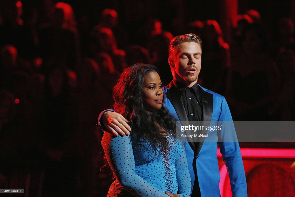 STARS - 'Episode 1711A' - In the last element of competition, the couples performed a new routine as part of a '24 Hour Fusion Challenge,' on the two-hour Season Finale on 'Dancing with the Stars,' TUESDAY, NOVEMBER 26 (9:00-11:00 p.m., ET), on ABC. AMBER