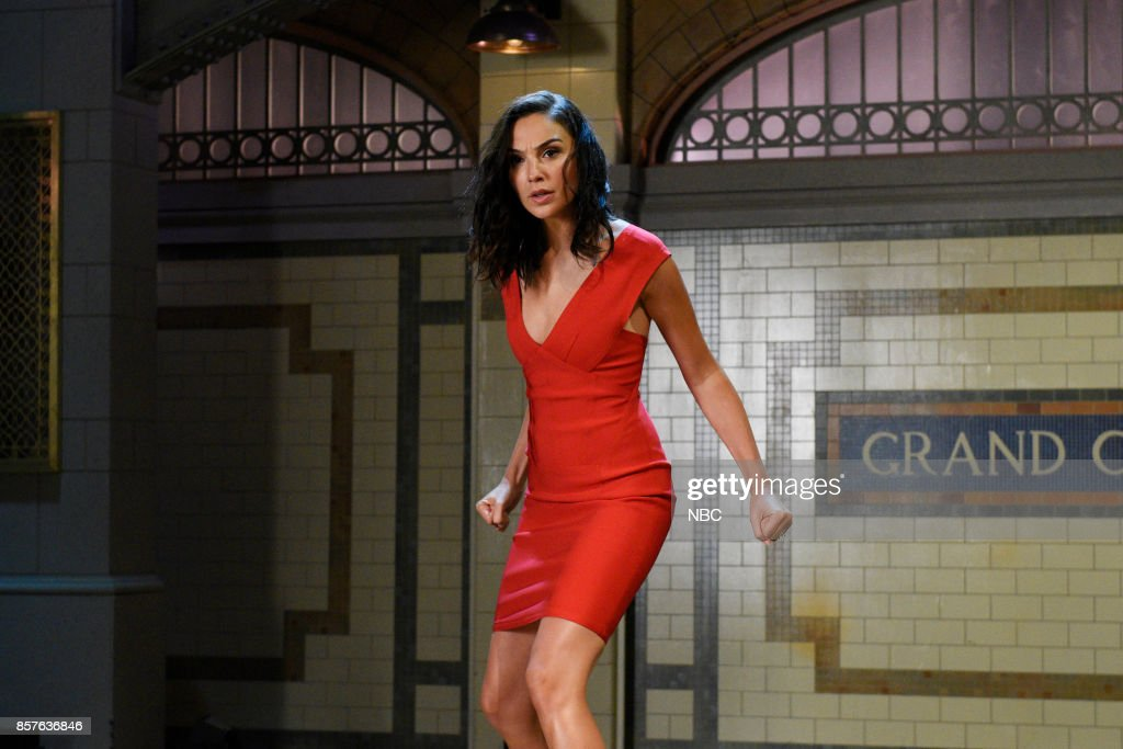 Actress Gal Gadot during a promo in New York City --
