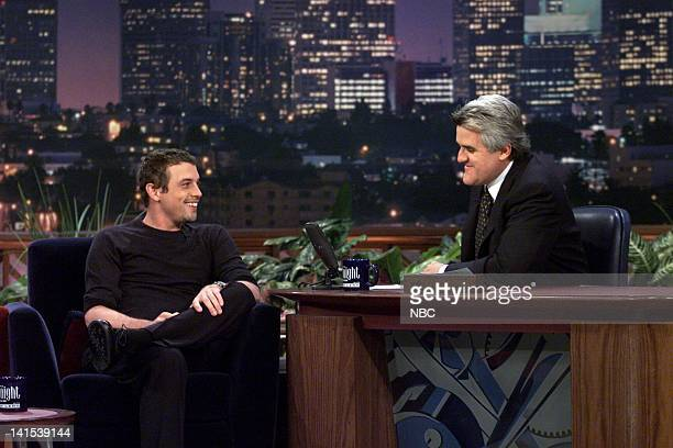 Actor Skeet Ulrich during an interview with host Jay Leno on December 2 1999 Photo by NBC/NBCU Photo Bank