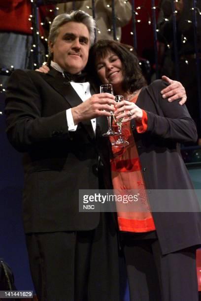 Host Jay Leno and wife Mavis Leno on December 31 1999 Photo by NBC/NBCU Photo Bank