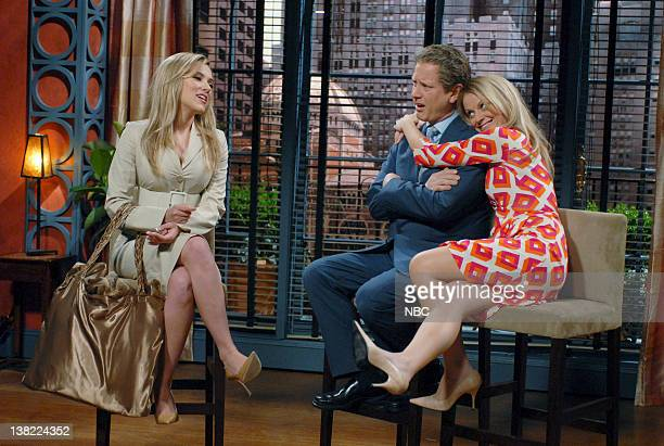 LIVE Episode 18 Aired Pictured Scarlett Johansson as Ivanka Trump Darrell Hammond as Regis Philbin Amy poehler as Kelly Ripa during 'Live with Regis...