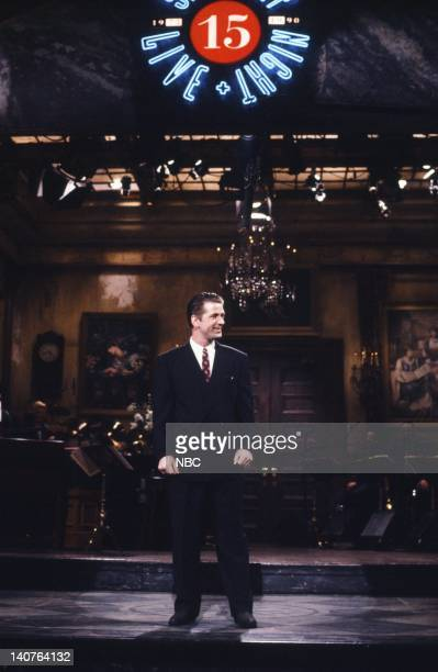 Alec Baldwin during the monologue on April 21 1990 Photo by Alan Singer/NBCU Photo Bank