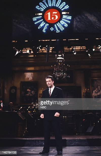 Alec Baldwin during the monologue on April 21 1990 Photo by Alan Singer/NBCU Photo Bank