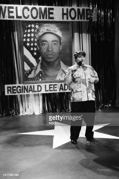 Chris Farley during the 'All Star Celebrity Tribute' skit on April 20 1991 Photo by Alan Singer/NBC/NBCU Photo Bank