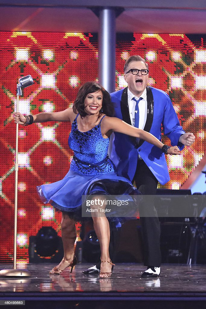 STARS - 'Episode 1802' - The competition heated up on 'Dancing with the Stars' as the celebrities took on a new style of dance, MONDAY, MARCH 24 (8:00-10:01 p.m., ET). Each couple performed a dance style of the celebrities choosing including Swing, Tango, Jive, Salsa, Samba, Rumba and the Cha Cha. The couples also faced the first nerve-racking round of elimination. CHERYL