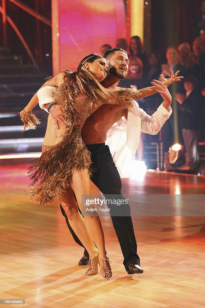 STARS - 'Episode 1802' - The competition heated up on 'Dancing with the Stars' as the celebrities took on a new style of dance, MONDAY, MARCH 24 (8:00-10:01 p.m., ET). Each couple performed a dance style of the celebrities choosing including Swing, Tango, Jive, Salsa, Samba, Rumba and the Cha Cha. The couples also faced the first nerve-racking round of elimination. CHMERKOVSKIY