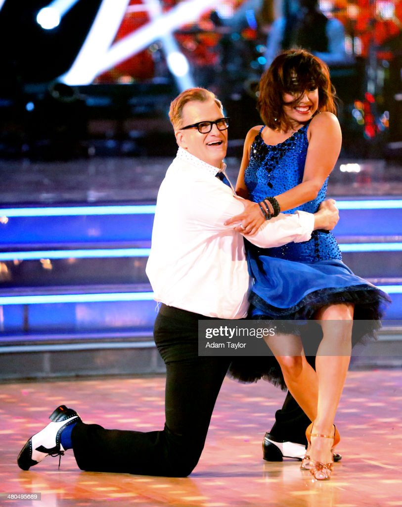 STARS - 'Episode 1802' - The competition heated up on 'Dancing with the Stars' as the celebrities took on a new style of dance, MONDAY, MARCH 24 (8:00-10:01 p.m., ET). Each couple performed a dance style of the celebrities choosing including Swing, Tango, Jive, Salsa, Samba, Rumba and the Cha Cha. The couples also faced the first nerve-racking round of elimination. DREW