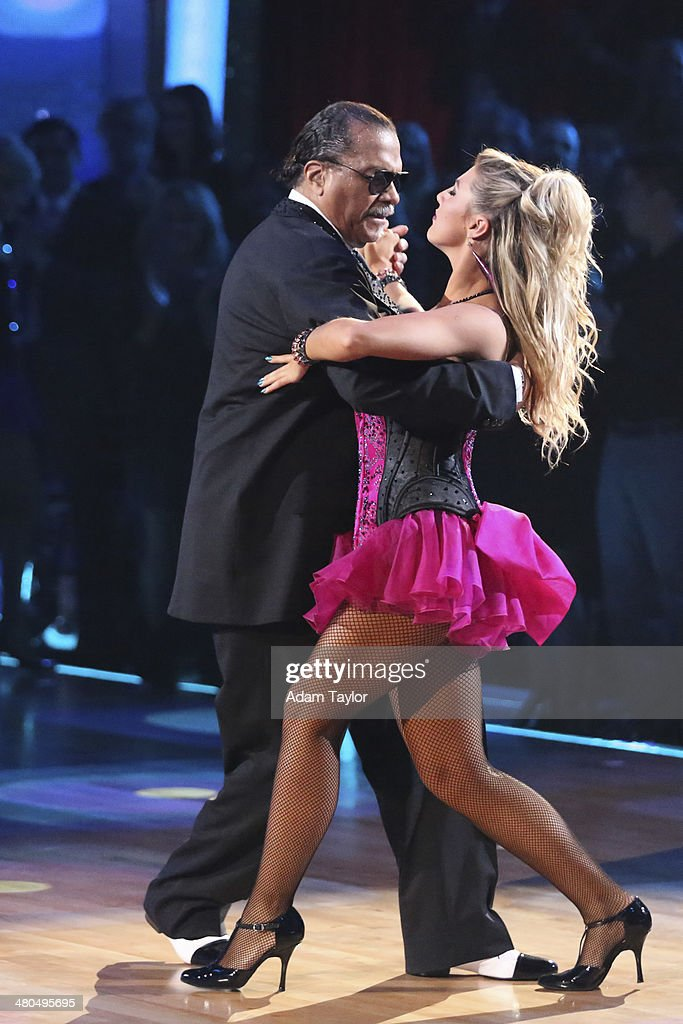 STARS - 'Episode 1802' - The competition heated up on 'Dancing with the Stars' as the celebrities took on a new style of dance, MONDAY, MARCH 24 (8:00-10:01 p.m., ET). Each couple performed a dance style of the celebrities choosing including Swing, Tango, Jive, Salsa, Samba, Rumba and the Cha Cha. The couples also faced the first nerve-racking round of elimination. BILLY