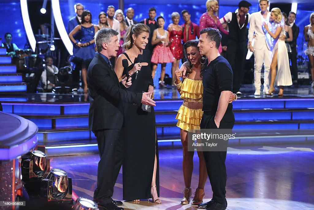 STARS - 'Episode 1802' - The competition heated up on 'Dancing with the Stars' as the celebrities took on a new style of dance, MONDAY, MARCH 24 (8:00-10:01 p.m., ET). Each couple performed a dance style of the celebrities choosing including Swing, Tango, Jive, Salsa, Samba, Rumba and the Cha Cha. The couples also faced the first nerve-racking round of elimination. TOM