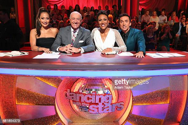 STARS 'Episode 1803' 'Good Morning America' anchor Robin Roberts was a guest judge for the first time alongside Len Goodman Bruno Tonioli and Carrie...