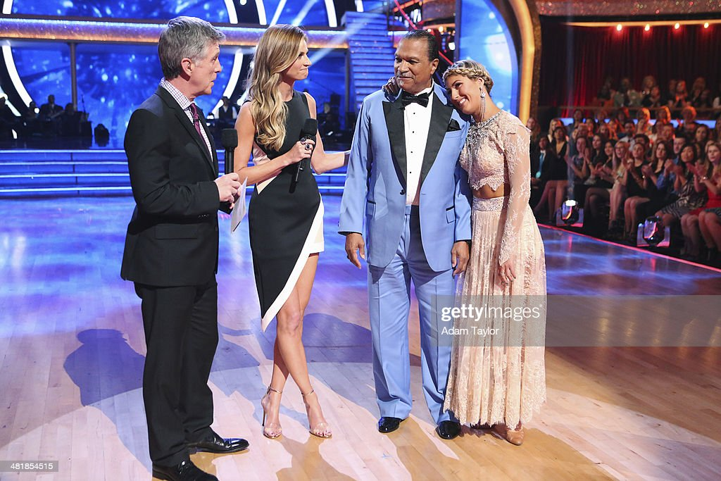STARS - 'Episode 1803' - 'Good Morning America' anchor Robin Roberts was a guest judge for the first time alongside Len Goodman, Bruno Tonioli and Carrie Ann Inaba on 'Dancing with the Stars,' MONDAY, MARCH 31 (8:00-10:01 p.m., ET). The remaining 10 celebrities commemorated 'The Most Memorable Year Of Their Life.' Each couple danced to a song of the celebrities choosing that encompassed a memorable time or experience in their life. TOM