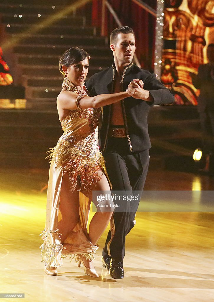 STARS - 'Episode 1804' - For the first time ever celebrities switched professional dance partners on 'Dancing with the Stars,' MONDAY, APRIL 7 (8:00-10:01 p.m., ET) on the ABC Television Network. This past week, America was given the power to vote and change celebrity and professional dance pairings and each star faced this new challenge. The new couples were revealed live for the first time throughout the evening. Additionally, two-time professional 'Dancing with the Stars' champion, Julianne Hough, returned to guest judge for the second time alongside Len Goodman, Bruno Tonioli and Carrie Ann Inaba. CHERYL