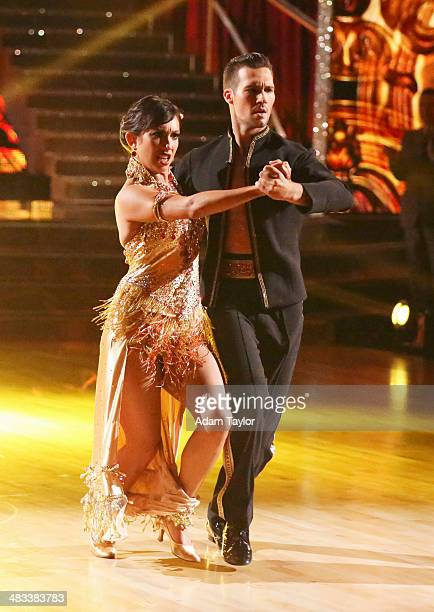 STARS 'Episode 1804' For the first time ever celebrities switched professional dance partners on 'Dancing with the Stars' MONDAY APRIL 7 on the ABC...