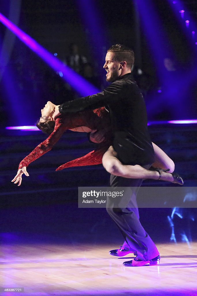 STARS - 'Episode 1804' - For the first time ever celebrities switched professional dance partners on 'Dancing with the Stars,' MONDAY, APRIL 7 (8:00-10:01 p.m., ET) on the ABC Television Network. This past week, America was given the power to vote and change celebrity and professional dance pairings and each star faced this new challenge. The new couples were revealed live for the first time throughout the evening. Additionally, two-time professional 'Dancing with the Stars' champion, Julianne Hough, returned to guest judge for the second time alongside Len Goodman, Bruno Tonioli and Carrie Ann Inaba. MERYL