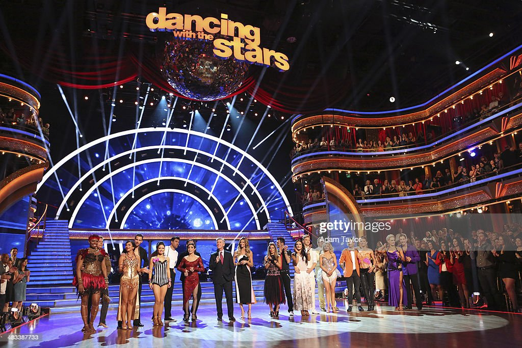 STARS - 'Episode 1804' - For the first time ever celebrities switched professional dance partners on 'Dancing with the Stars,' MONDAY, APRIL 7 (8:00-10:01 p.m., ET) on the ABC Television Network. This past week, America was given the power to vote and change celebrity and professional dance pairings and each star faced this new challenge. The new couples were revealed live for the first time throughout the evening. Additionally, two-time professional 'Dancing with the Stars' champion, Julianne Hough, returned to guest judge for the second time alongside Len Goodman, Bruno Tonioli and Carrie Ann Inaba. WHITE