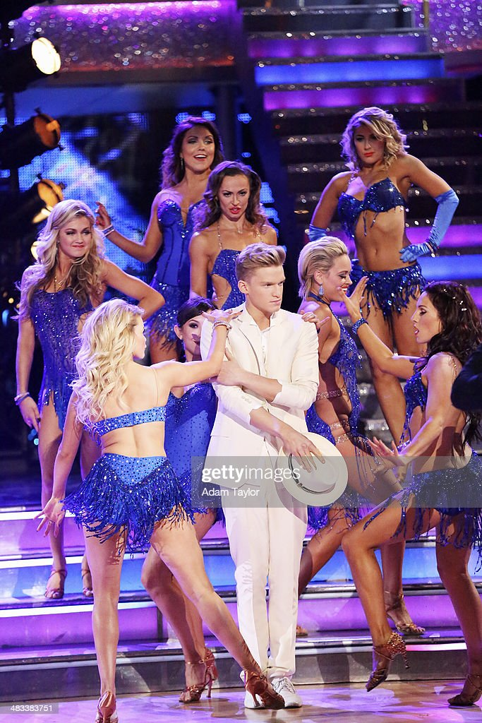 STARS - 'Episode 1804' - The show began with an opening number featuring the entire cast followed by each celebrity tackling a new style of dance with their new partner, on 'Dancing with the Stars,' MONDAY, APRIL 7 (8:00-10:01 p.m., ET) on the ABC Television Network. CODY