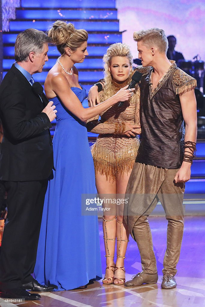 STARS - 'Episode 1805' - Cody Simpson and Witney Carson were eliminated on 'Dancing with the Stars,' MONDAY, APRIL 14 (8:00-10:01 p.m., ET) on the ABC Television Network. TOM