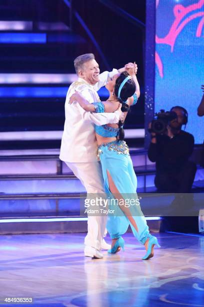 STARS 'Episode 1805' 'Dancing with the Stars' got into the Disney spirit with all new celebrity performances MONDAY APRIL 14 on the ABC Television...