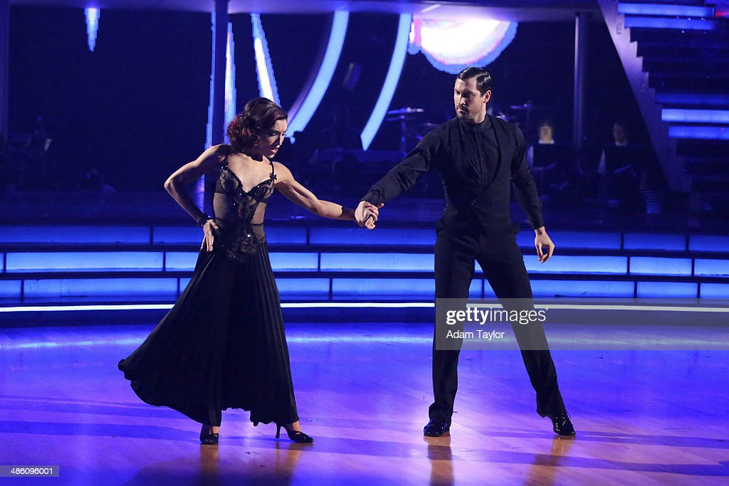 STARS - 'Episode 1806' - It's an all out celebration on 'Dancing with the Stars' as the celebrities got the party started MONDAY, APRIL 21 (8:00-10:01 p.m., ET) on the ABC Television Network. The show kicked off with a spectacular opening performance followed by each couple dancing to some of the greatest party anthems of all time. Additionally, LMFAO frontman Redfoo was the guest judge alongside Len Goodman, Bruno Tonioli and Carrie Ann Inaba. (Photo by Adam Taylor/ABC via Getty Images) MERYL