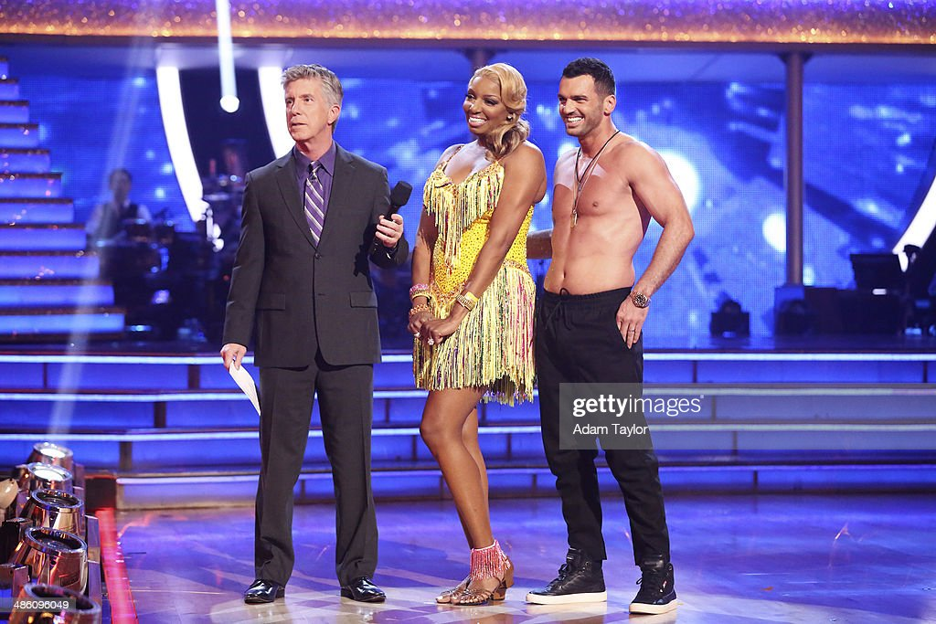 STARS - 'Episode 1806' - It's an all out celebration on 'Dancing with the Stars' as the celebrities got the party started MONDAY, APRIL 21 (8:00-10:01 p.m., ET) on the ABC Television Network. The show kicked off with a spectacular opening performance followed by each couple dancing to some of the greatest party anthems of all time. Additionally, LMFAO frontman Redfoo was the guest judge alongside Len Goodman, Bruno Tonioli and Carrie Ann Inaba. DOVOLANI