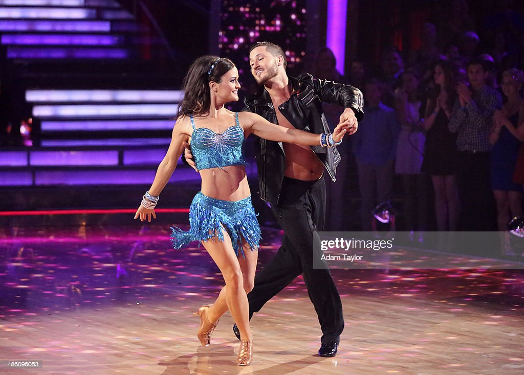 STARS - 'Episode 1806' - It's an all out celebration on 'Dancing with the Stars' as the celebrities got the party started MONDAY, APRIL 21 (8:00-10:01 p.m., ET) on the ABC Television Network. The show kicked off with a spectacular opening performance followed by each couple dancing to some of the greatest party anthems of all time. Additionally, LMFAO frontman Redfoo was the guest judge alongside Len Goodman, Bruno Tonioli and Carrie Ann Inaba. CHMERKOVSKIY