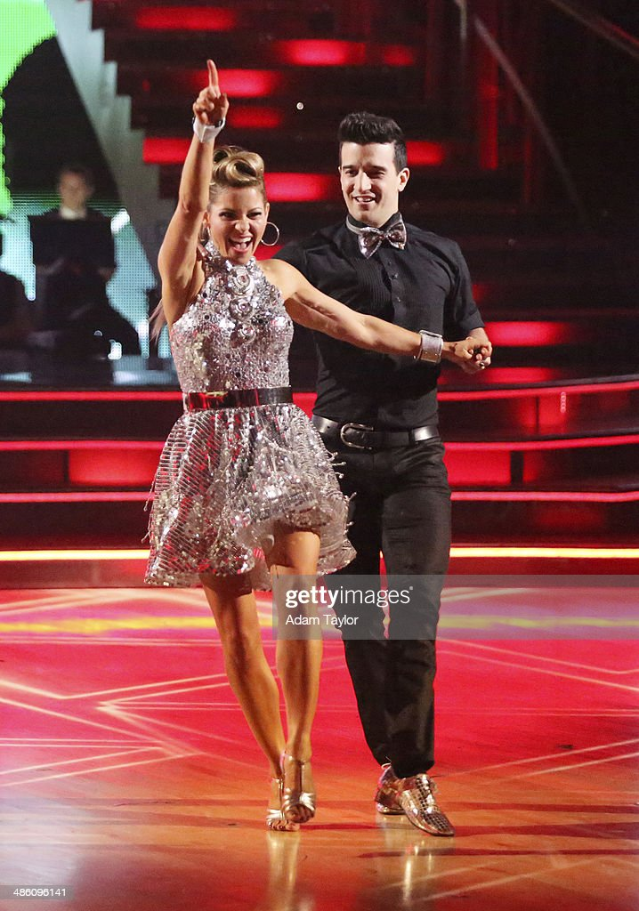 STARS - 'Episode 1806' - It's an all out celebration on 'Dancing with the Stars' as the celebrities got the party started MONDAY, APRIL 21 (8:00-10:01 p.m., ET) on the ABC Television Network. The show kicked off with a spectacular opening performance followed by each couple dancing to some of the greatest party anthems of all time. Additionally, LMFAO frontman Redfoo was the guest judge alongside Len Goodman, Bruno Tonioli and Carrie Ann Inaba. CANDACE